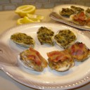 OYSTERS ROCKEFELLER AND CLAMS CASINO