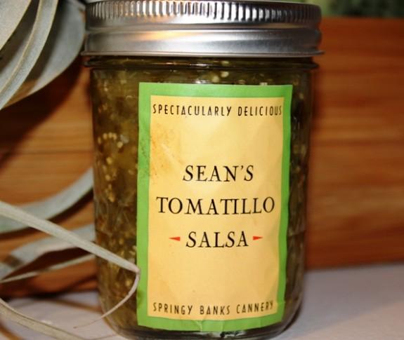 TOMATILLO SALSA: SEAN'S ORIGINAL RECIPE