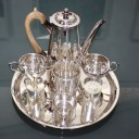 AN ECLECTIC SILVER SERVICE