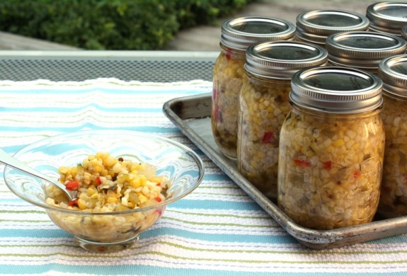 MEXICAN CORN RELISH: A BIG BATCH BUSHEL RECIPE