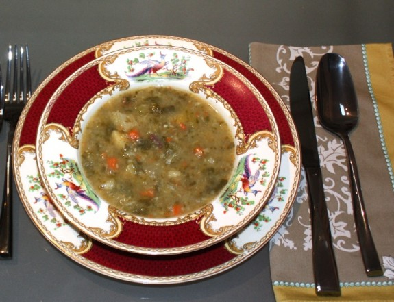 GENERAL VEGETABLE SOUP
