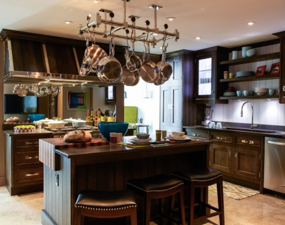Christopher Peacock Kitchen at Kips Bay Show House