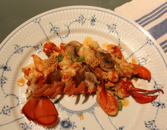 DUBLIN LAWYER: LOBSTER IN WHISKEY CREAM SAUCE