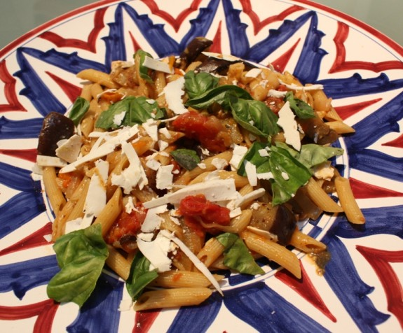 PENNE ALL NORMA: A BARILLA PASTA GAY-FRIENDLY FAMILY RECIPE
