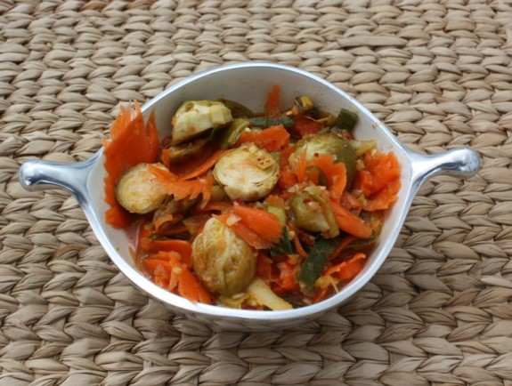 BRUSSELS SPROUT KIMCHI