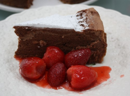 Carol Stuckhardt's Chocolate Malt Cheesecake