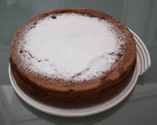 Carol Stuckhardt's Chocolate Malt Cheesecake