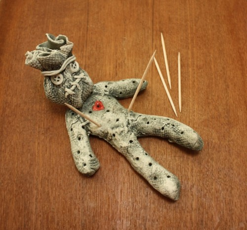 Voodoo man toothpick holder spectacularly delicious - Voodoo toothpick holder ...